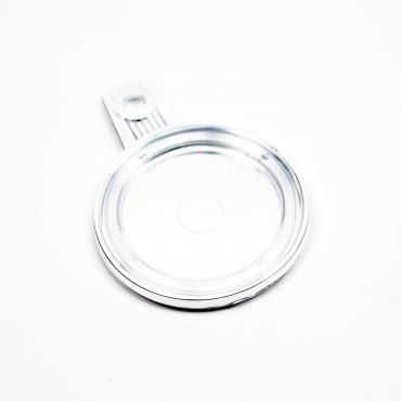 Plastic insurance sticker holder chrome - Solex Me - Spare parts for Solex - Solex Me