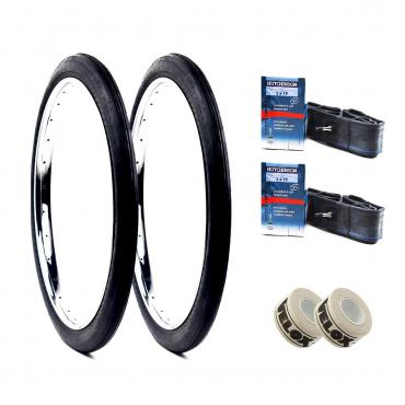 Pack Hutchinson Tires + 19 inch Chambers + Velox - Spare parts for Solex - Solex Me